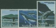 NFI SG587-9 Humpback Whale Conservation set of 3